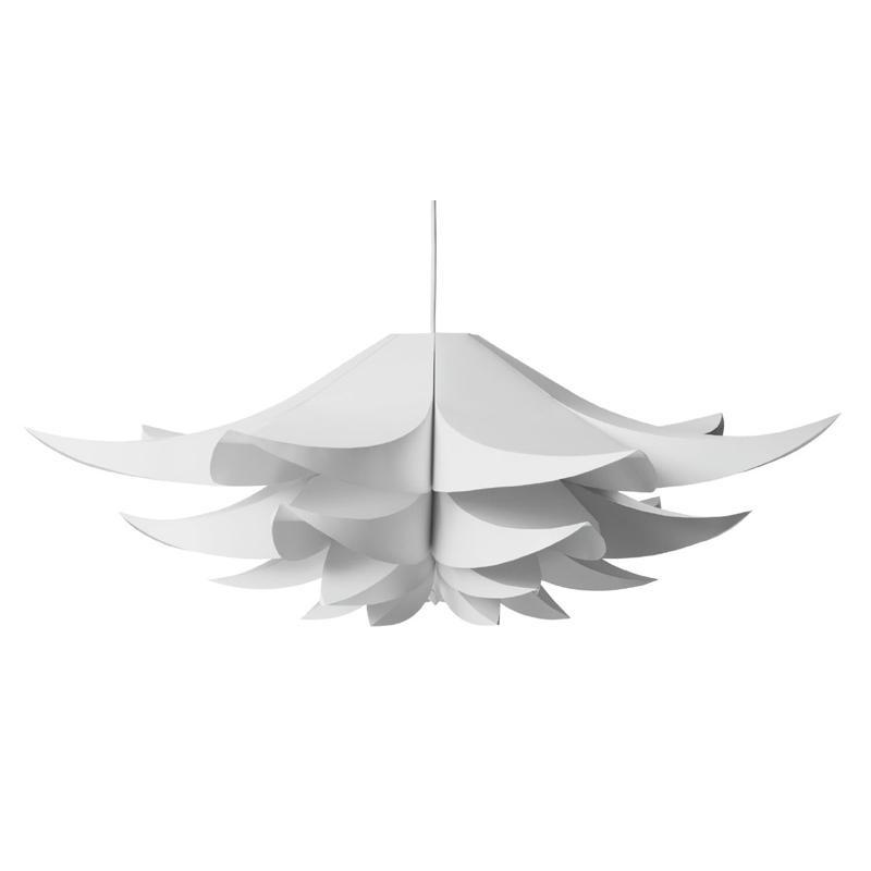 Normann Copenhagen - Norm 06 - abat-jour - blanc/feuille/Taille 3/Ø85cm