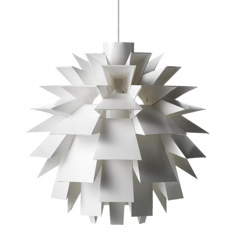 Normann Copenhagen - Norm 69 - Abat-jour - blanc/mat/Ø 51cm/excl. câble, douille de lampe, ampoule